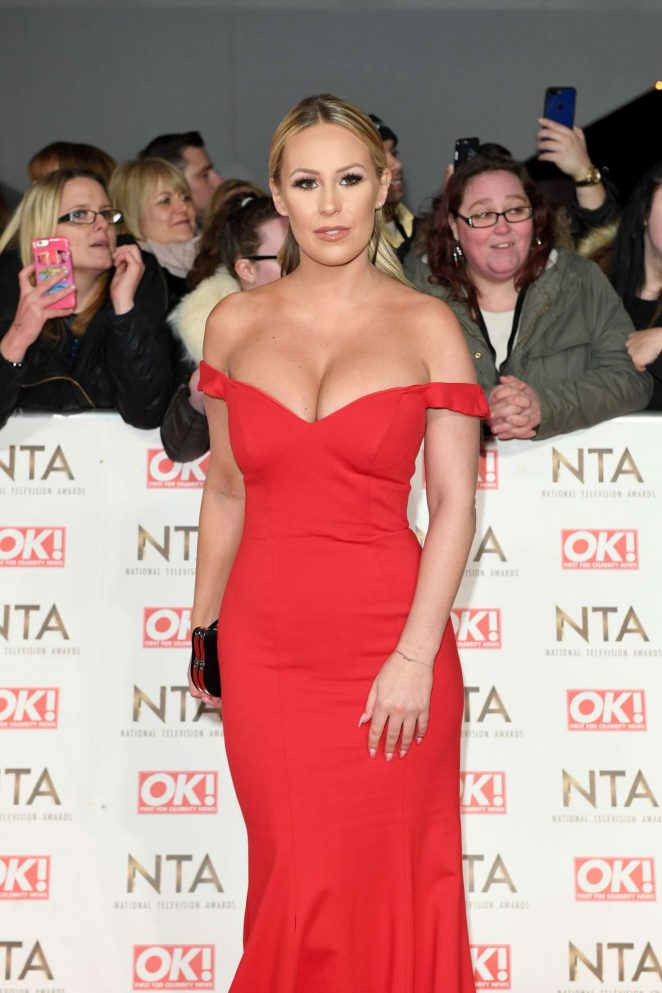 Kate Wright - 2017 National Television Awards in London