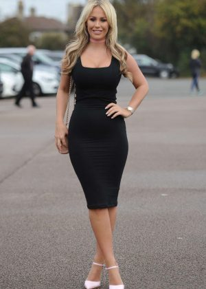 Kate Wright - Films scenes for a charity breast cancer ball in Essex