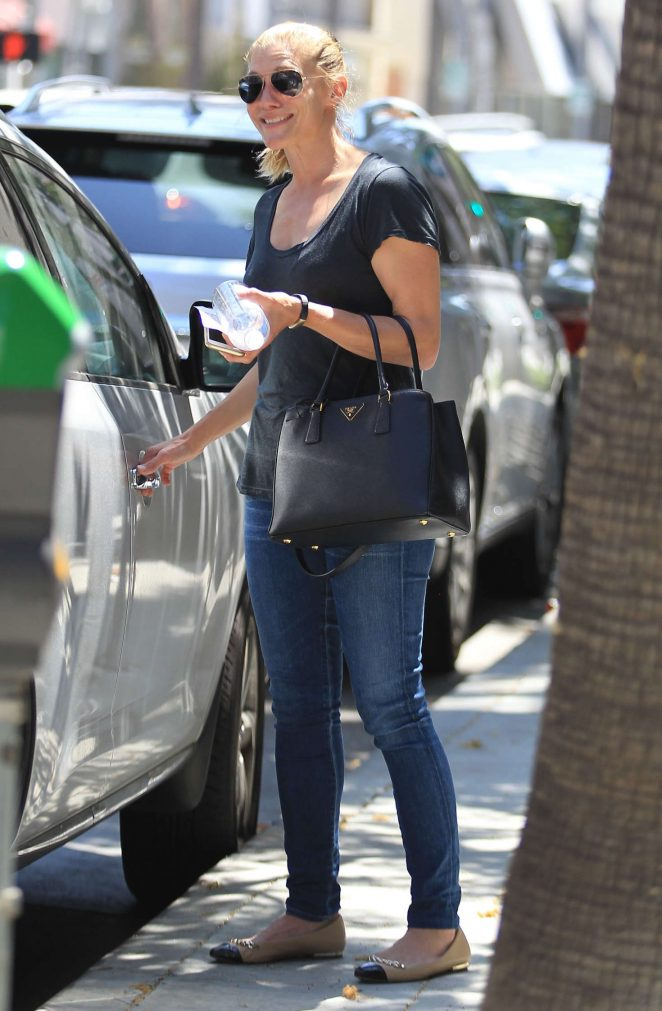 Katee Sackhoff out in Beverly Hills