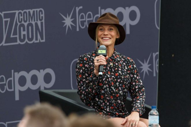 Katee Sackhoff: Panel at Oz Comic-Con 2016 -13