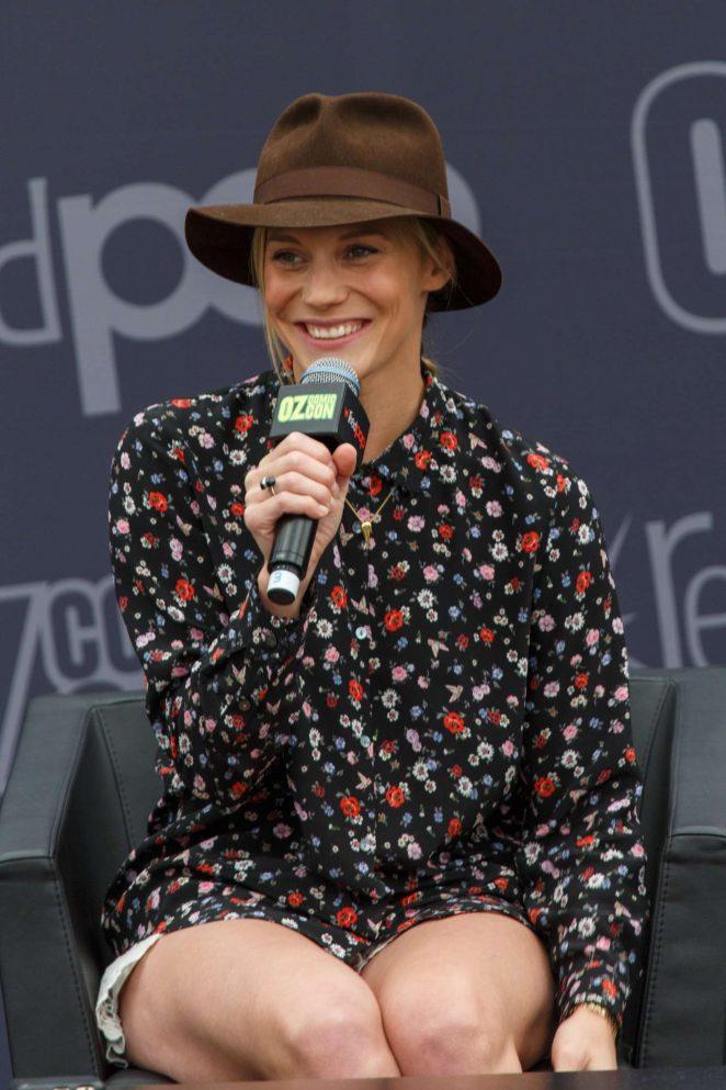 Katee Sackhoff: Panel at Oz Comic-Con 2016 -21