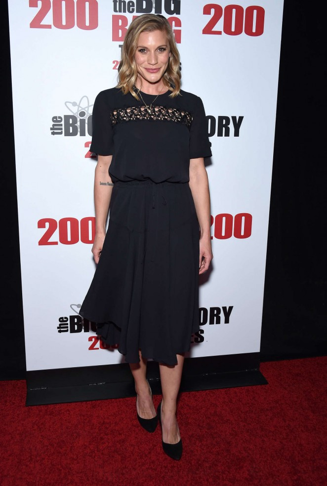 Katee Sackhoff - 'The Big Bang Theory' 200th Episode Celebration in LA