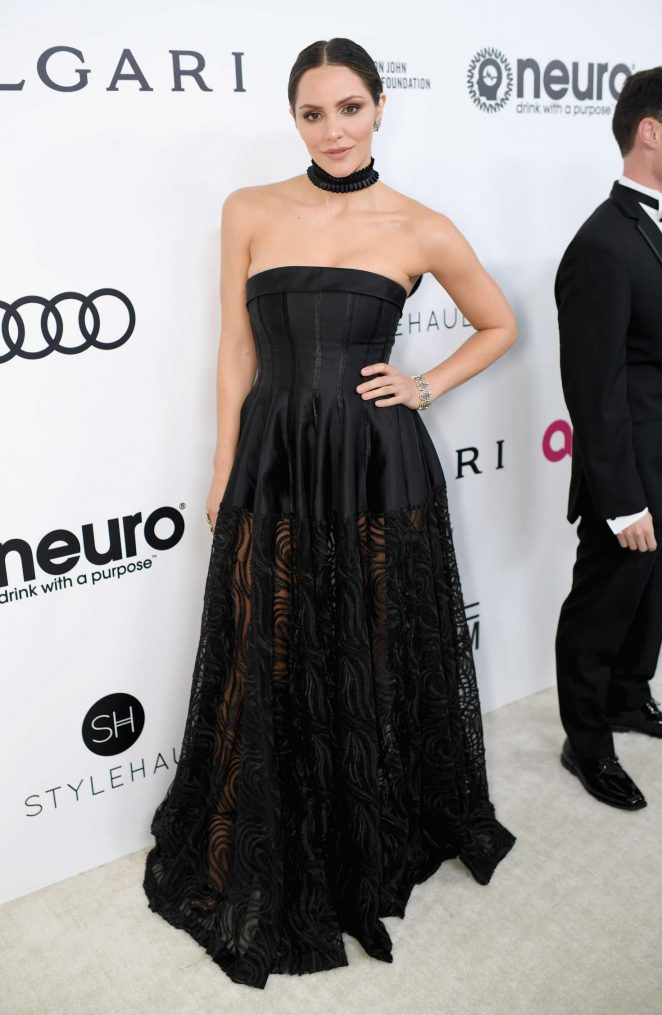 Katharine McPhee: 2017 Elton John AIDS Foundations Oscar Viewing Party -01