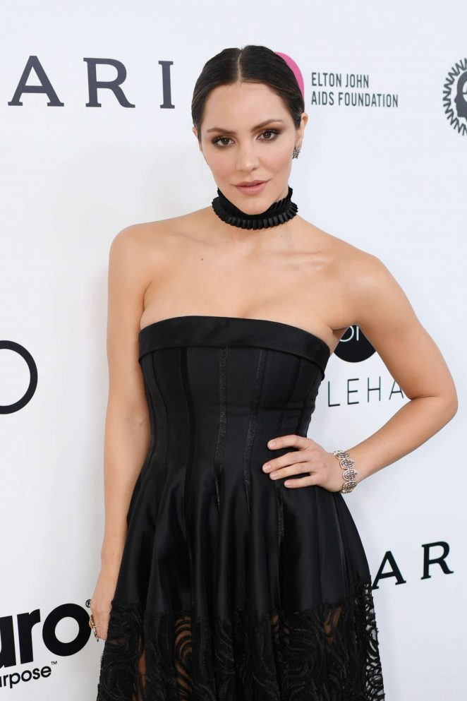 Katharine McPhee – 2017 Elton John AIDS Foundation's Oscar Viewing Party in West Hollywood