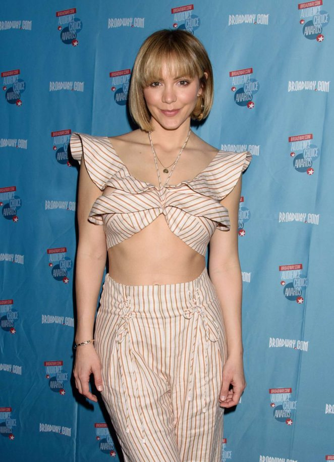 Katharine McPhee - 2018 Broadway.com Audience Choice Awards Winners Cocktail Party in NY