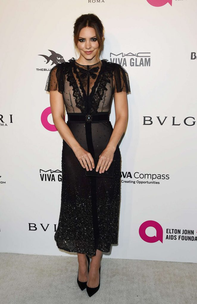 Katharine McPhee – 2018 Elton John AIDS Foundation's Oscar Viewing Party in West Hollywood