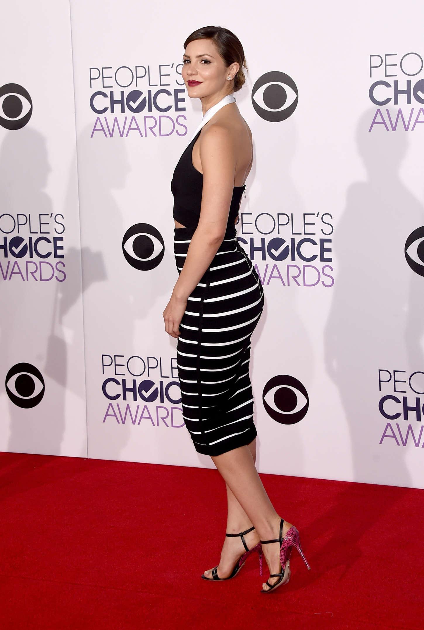 Katharine McPhee - 41st Annual People's Choice Awards in LA