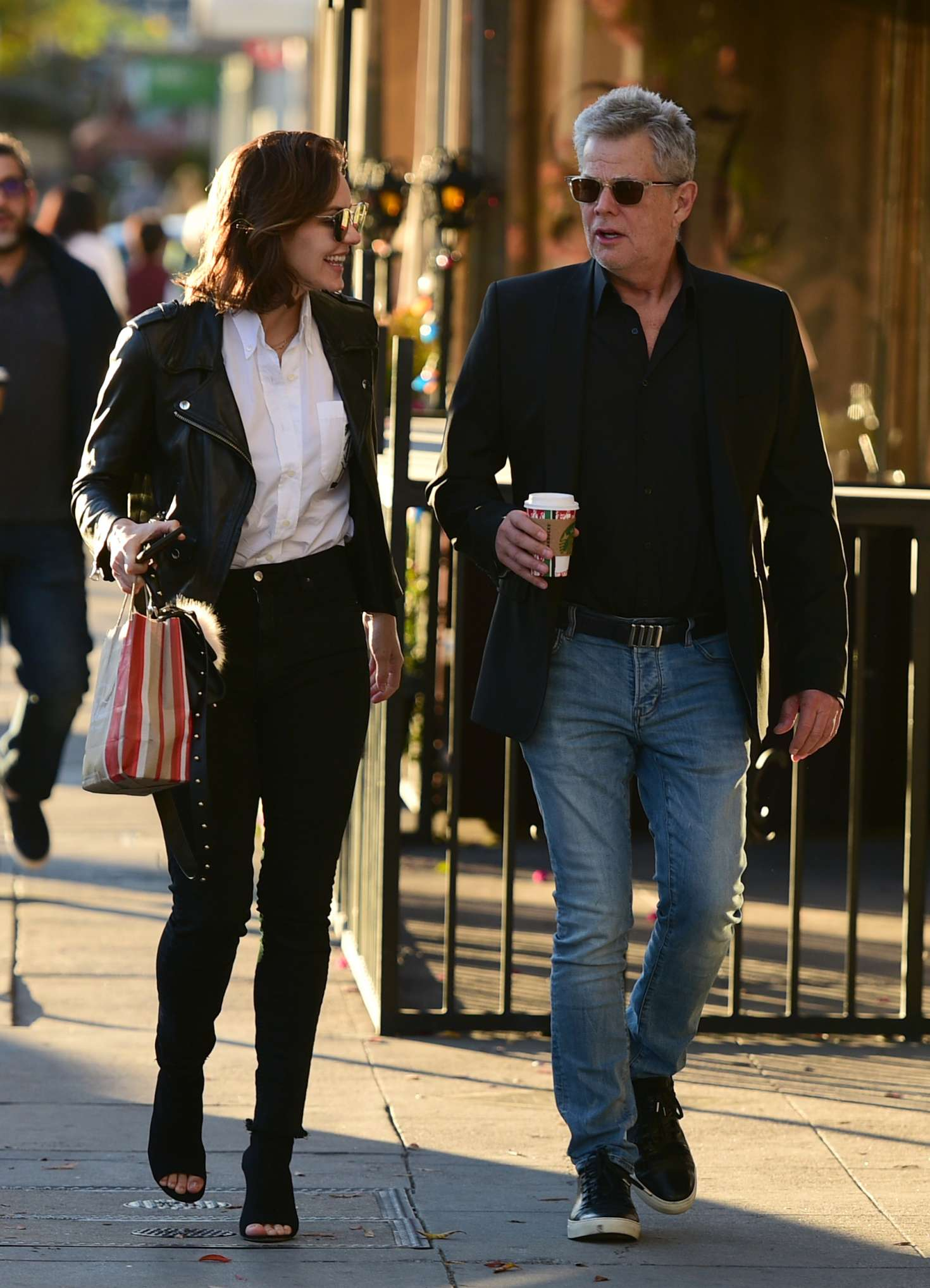 Katharine McPhee 2018 : Katharine McPhee and David Foster: Shopping in Los Angeles -01