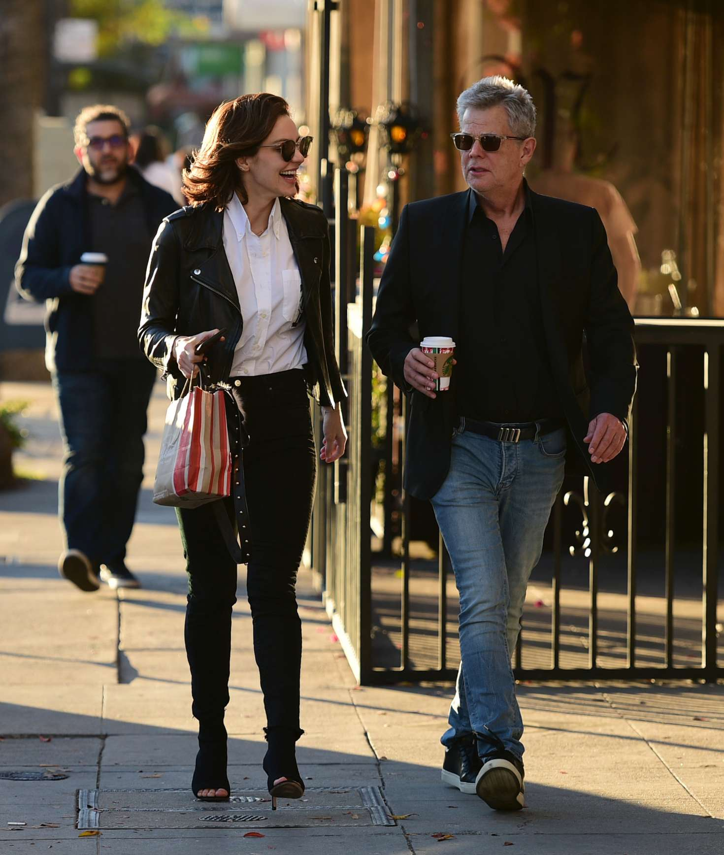 Katharine McPhee 2018 : Katharine McPhee and David Foster: Shopping in Los Angeles -03