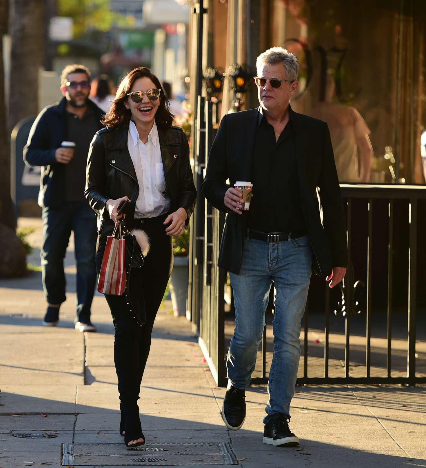 Katharine McPhee 2018 : Katharine McPhee and David Foster: Shopping in Los Angeles -04