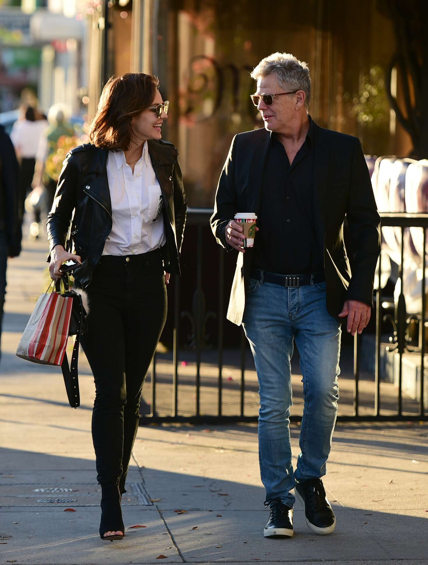 Katharine McPhee 2018 : Katharine McPhee and David Foster: Shopping in Los Angeles -05