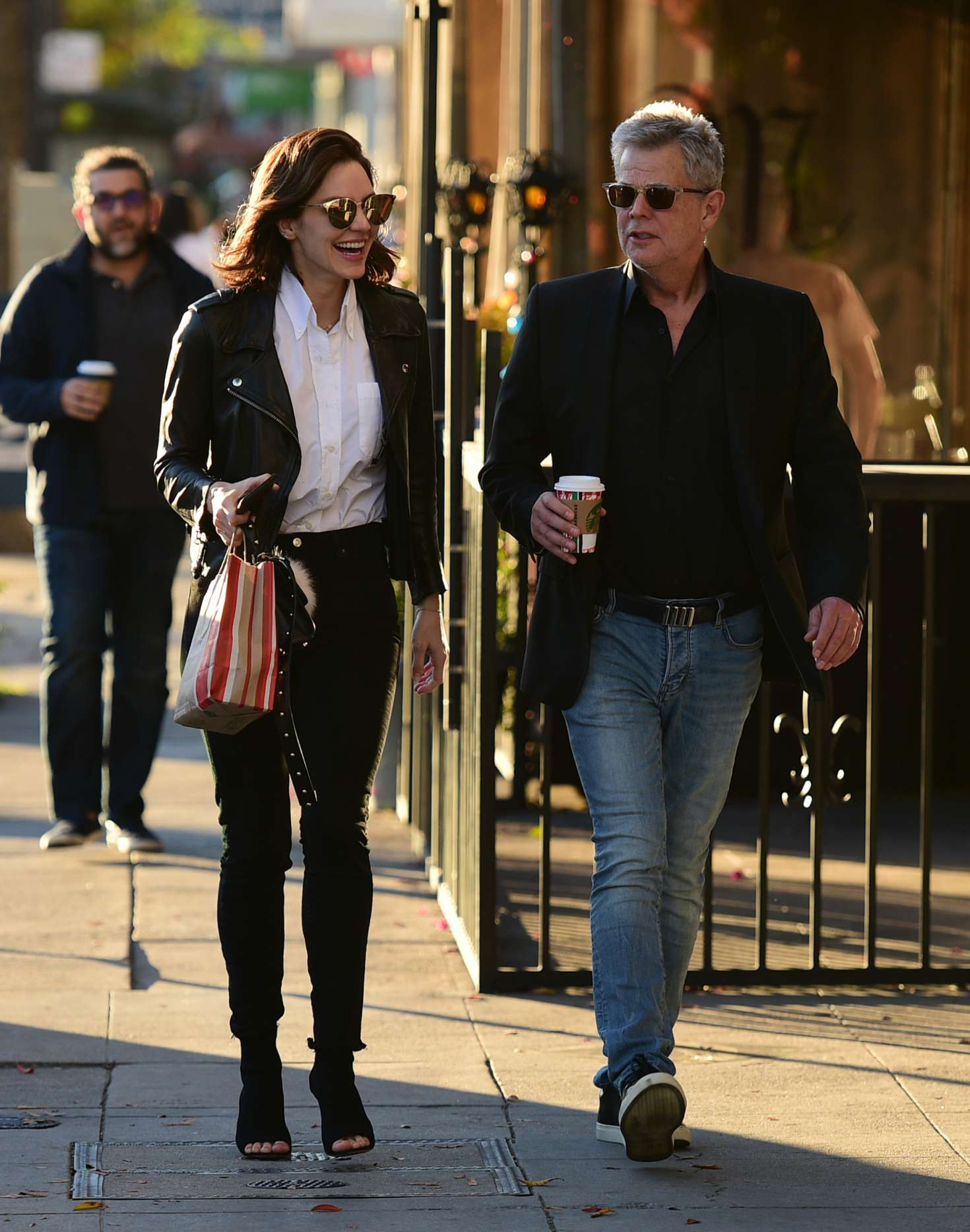 Katharine McPhee 2018 : Katharine McPhee and David Foster: Shopping in Los Angeles -06