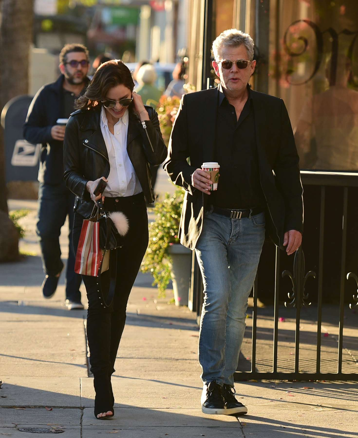 Katharine McPhee 2018 : Katharine McPhee and David Foster: Shopping in Los Angeles -07