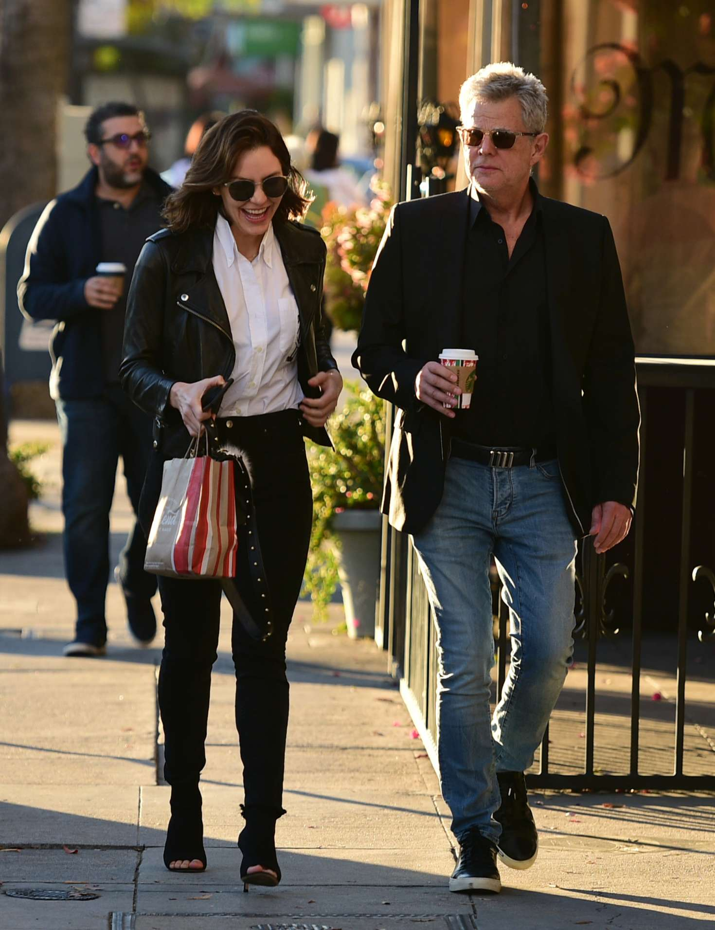 Katharine McPhee 2018 : Katharine McPhee and David Foster: Shopping in Los Angeles -09