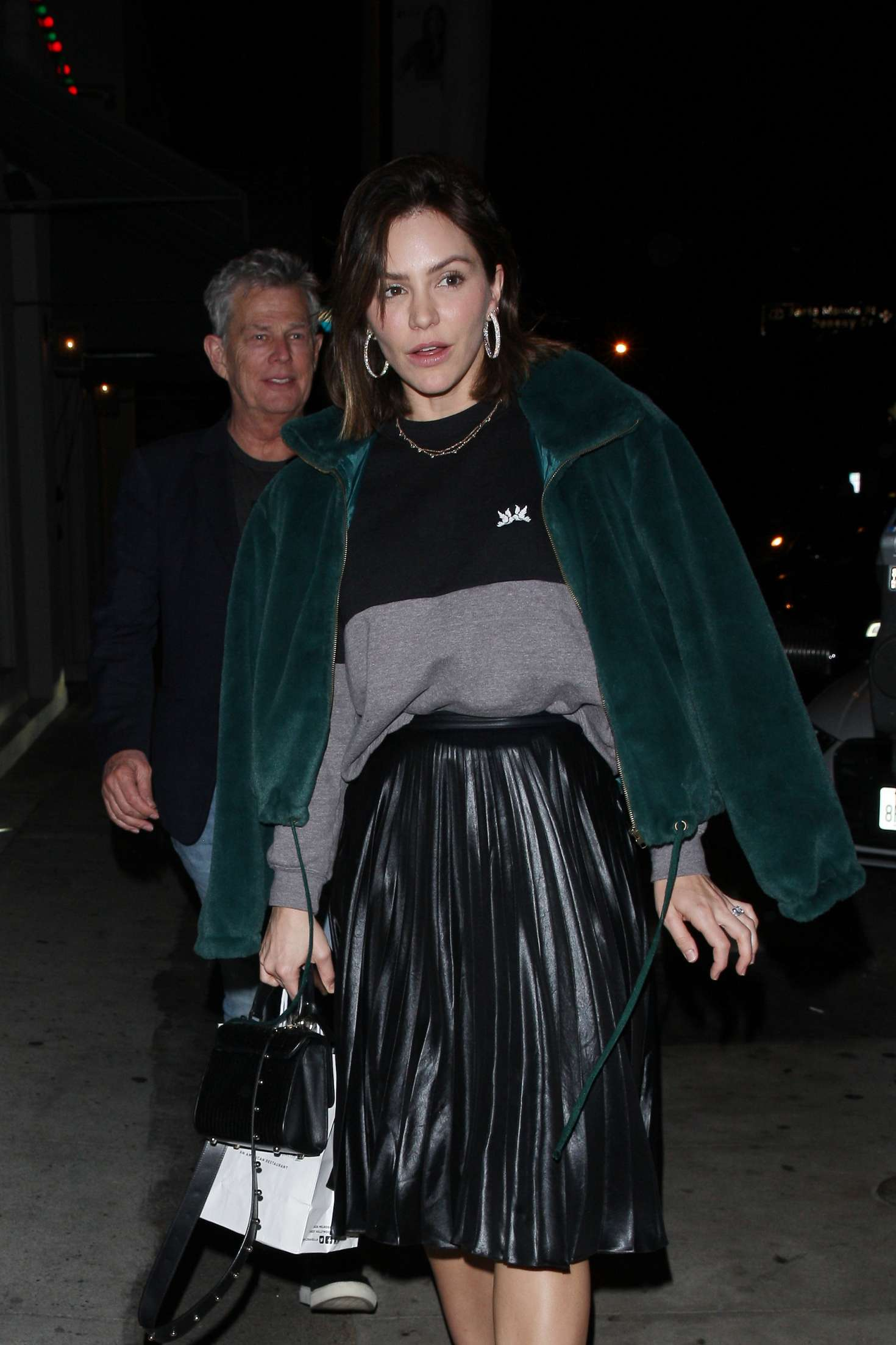 Katharine McPhee – Arrives at Craig's restaurant in West Hollywood