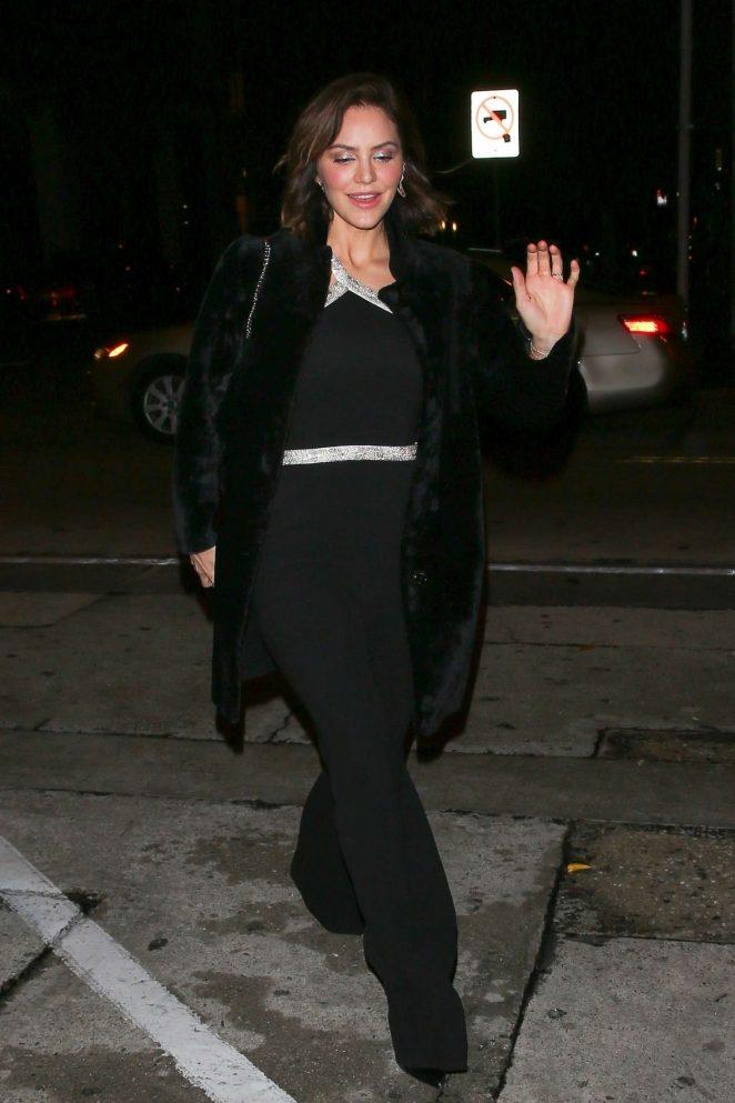 Katharine McPhee – Arrives at Craig's restaurant in West Hollywood