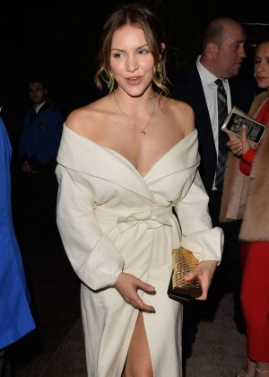 Katharine McPhee - Arriving to The WME Oscar Party in Beverly Hills