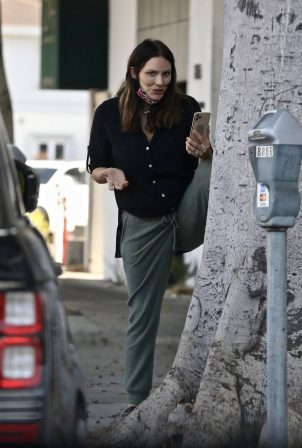 Katharine McPhee - As seen outside a hair salon in Los Angeles