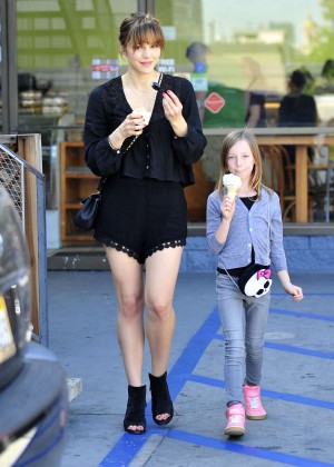 Katharine McPhee in Black Shorts -18