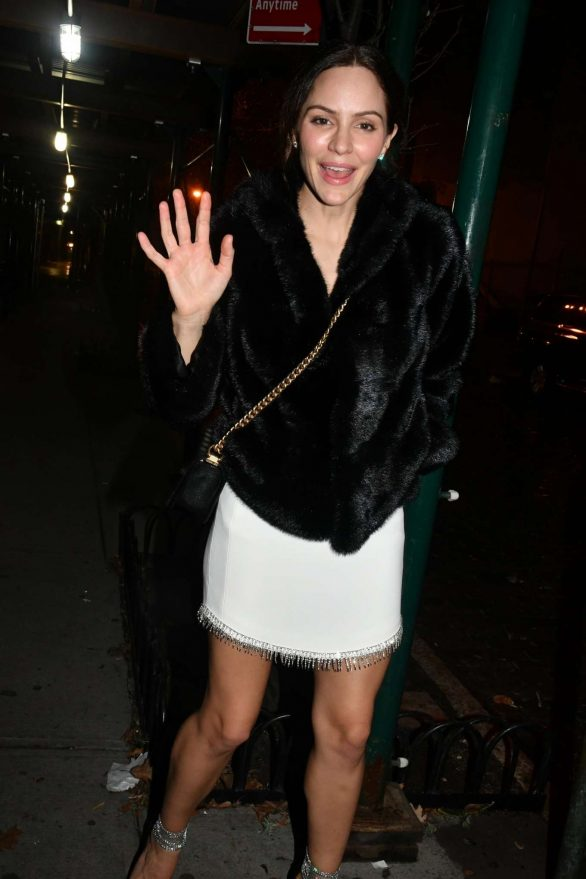 Katharine McPhee at the Jane Hotel Party in New York City