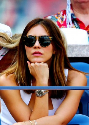Katharine McPhee at US Open in New York