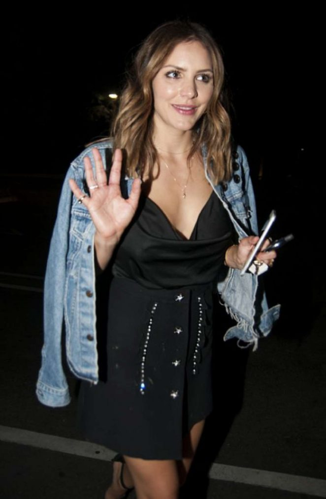 Katharine McPhee at Vibrato Grill Jazz in LA