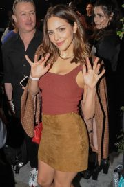Katharine McPhee - Attending the Kate Somerville Event in West Hollywood