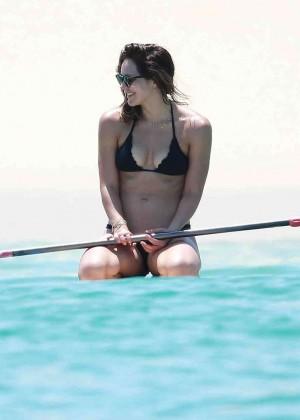 Katharine McPhee in Black Bikini -19
