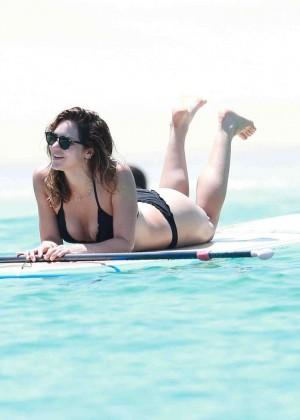 Katharine McPhee in Black Bikini -27