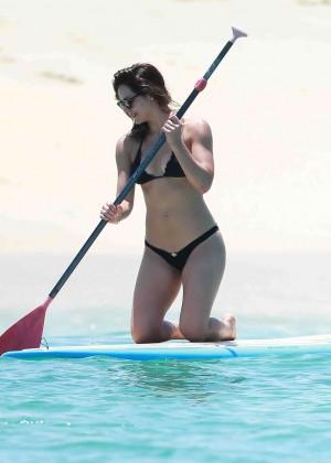 Katharine McPhee in Black Bikini -34
