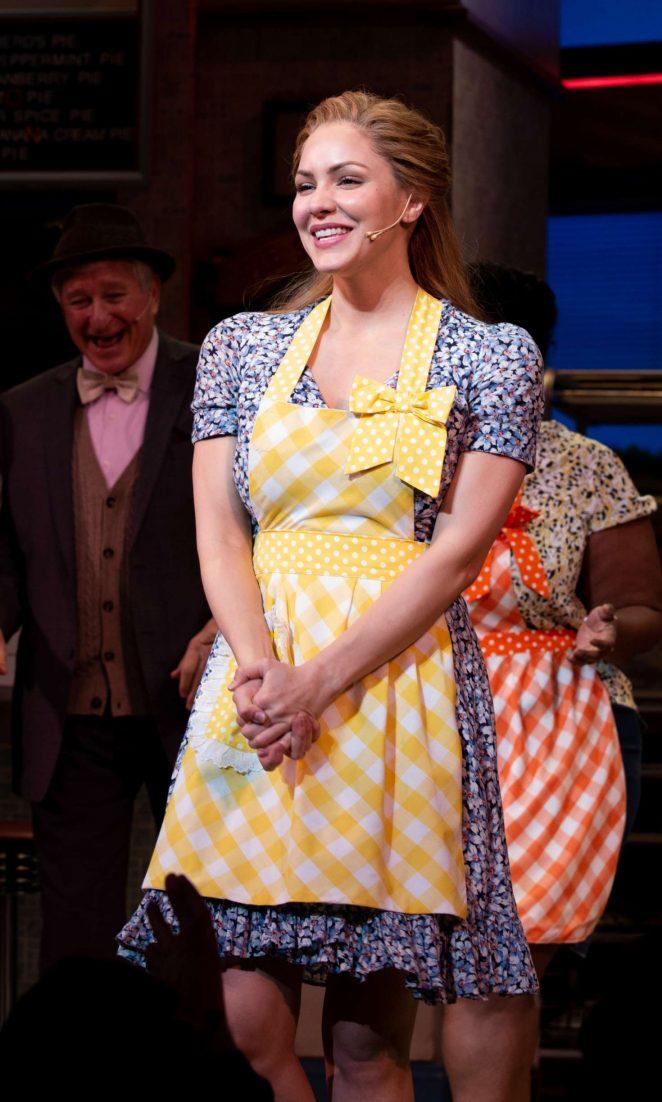Katharine McPhee – Broadway Debut in 'Waitress' in NYC