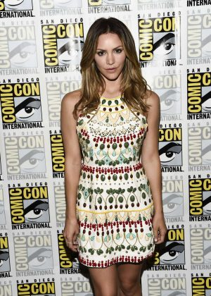 Katharine McPhee - CBS Television Press Line at Comic-Con 2016 in San Diego