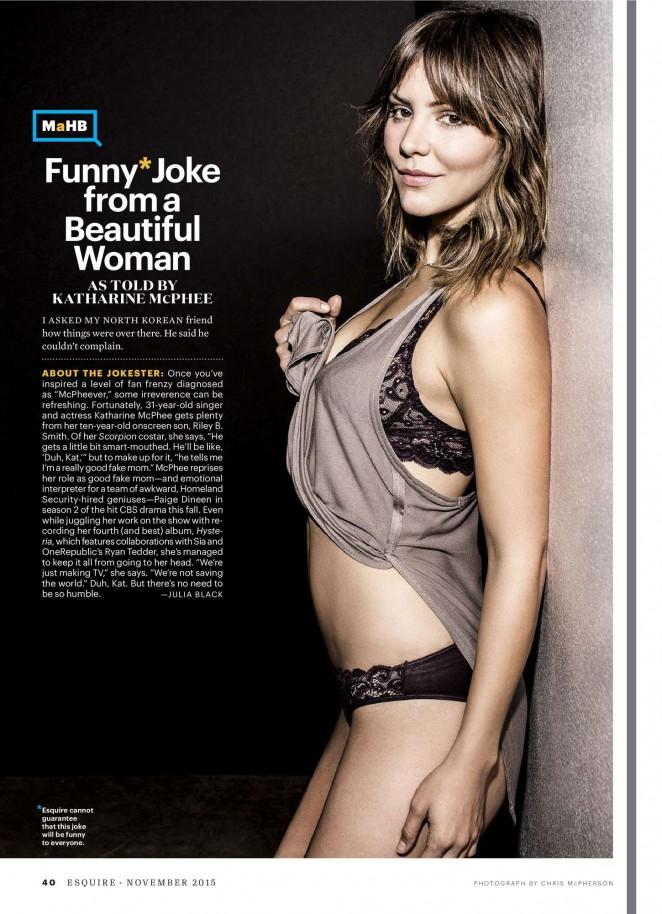 Katharine McPhee - Esquire Magazine (November 2015)