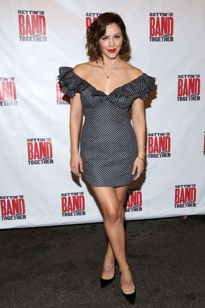 Katharine McPhee - Gettin' The Band Back Together Opening Night on Broadway in NY