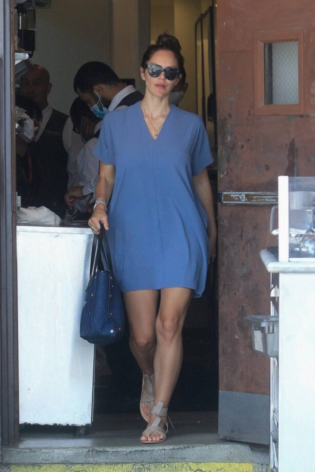 Katharine McPhee - Have lunch at Il Pastaio in Beverly Hills