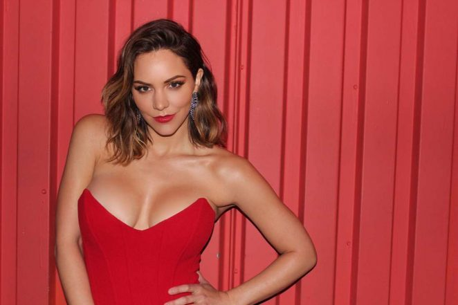 Katharine McPhee Hot in a Red Dress