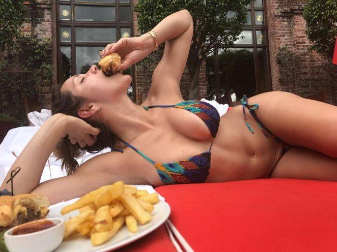 Katharine McPhee in Bikini - Instagram