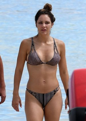 Katharine McPhee in Bikini on Miami Beach adds