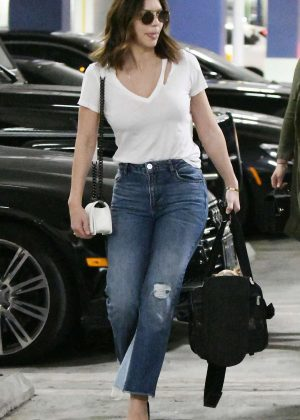 Katharine McPhee in Jeans out in Beverly Hills