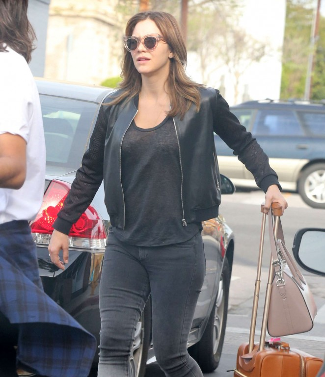 Katharine McPhee in Jeans Out in LA