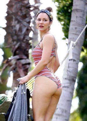 Katharine McPhee in Swimsuit in Hawaii