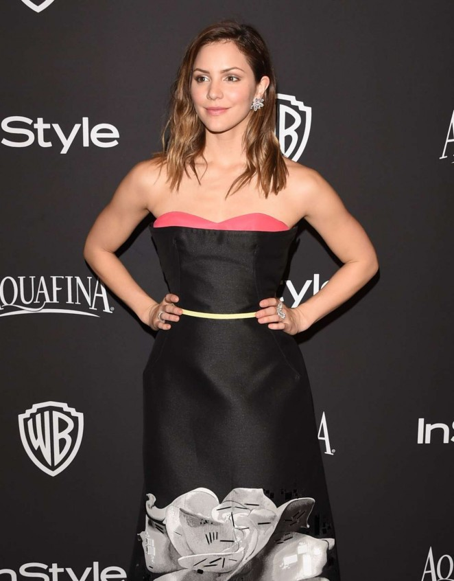 Katharine Mcphee - InStyle And Warner Bros Golden Globes Party 2015 in Beverly Hills