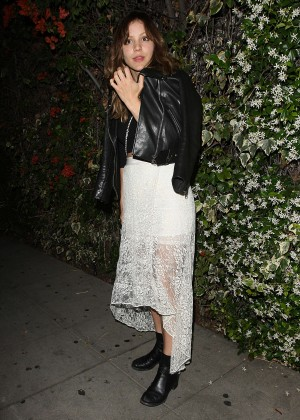 Katharine McPhee - Leaving Chateau Marmont in West Hollywood