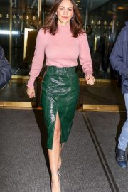 Katharine McPhee - Leaving The Today Show in NYC