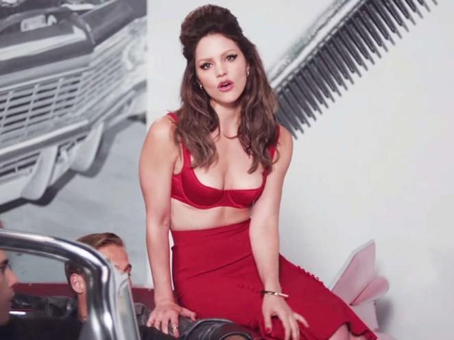 Katharine McPhee - 'Lick My Lips' Music Video Screencaps