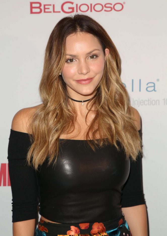 Katharine McPhee - Men's Fitness Magazine Celebrates the 2016 Game Changers in West Hollywood