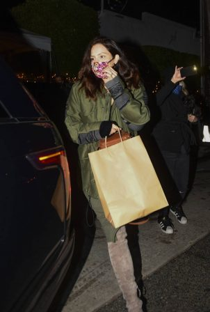 Katharine McPhee -Night out at Giorgio Baldi restaurant in Santa Monica