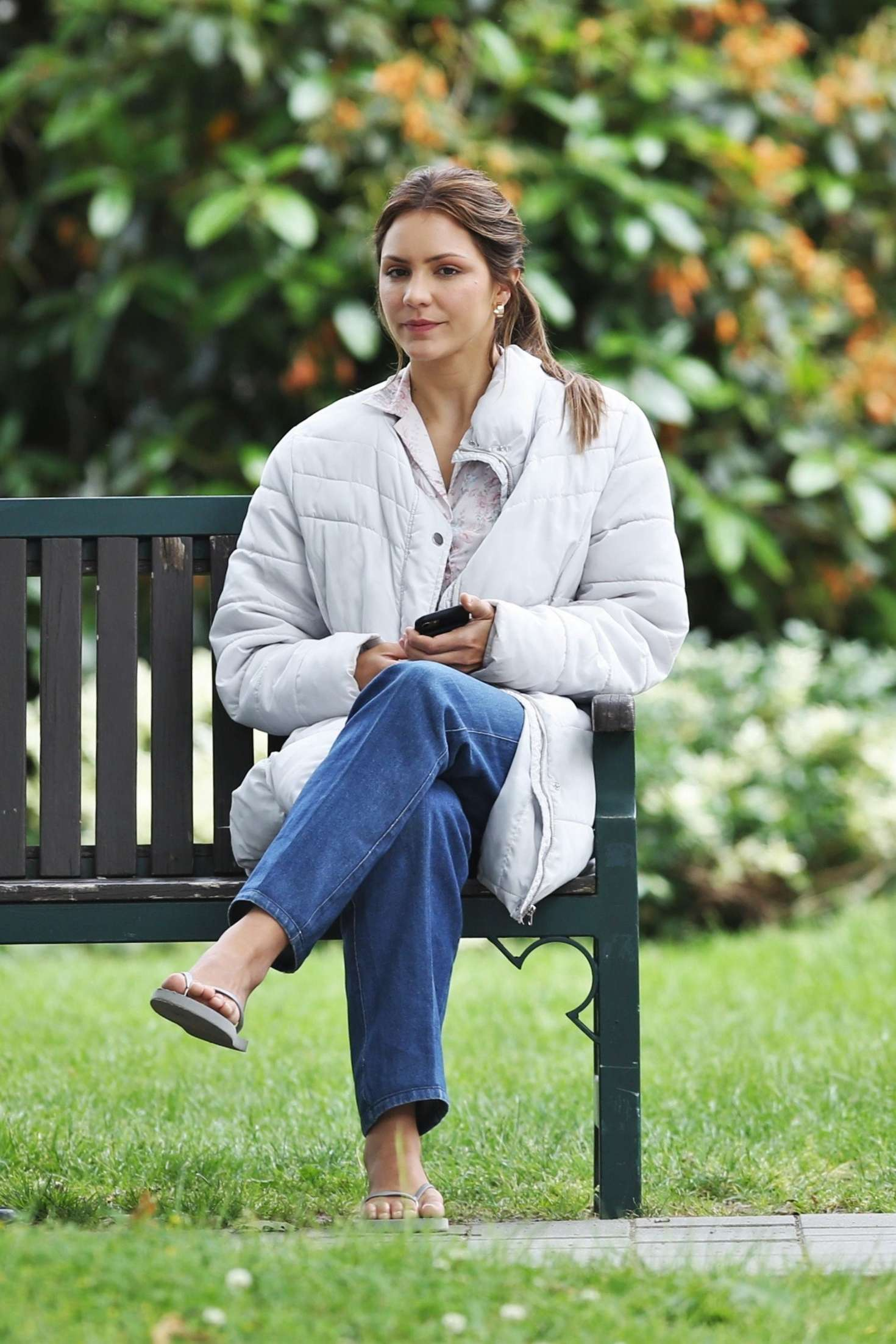 Katharine McPhee - On set of 'The Lost Wife of Robert Durst' in Vancouver