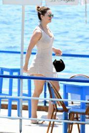 Katharine McPhee on the Amalfi Coast