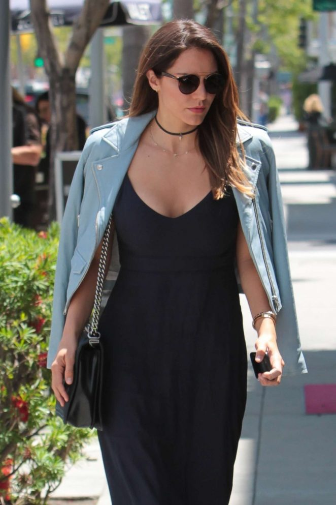 Katharine McPhee out for lunch in Beverly Hills